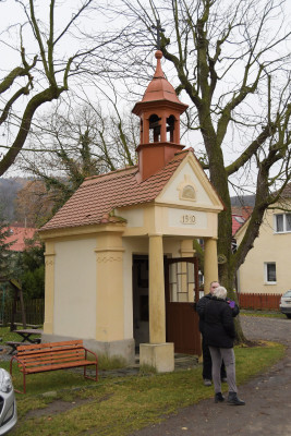 Boreč / Kaple Nejsvětější Trojice a Panny Marie