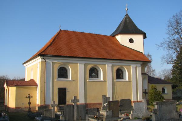 Třebešice, kostel Všech svatých, web.jpg