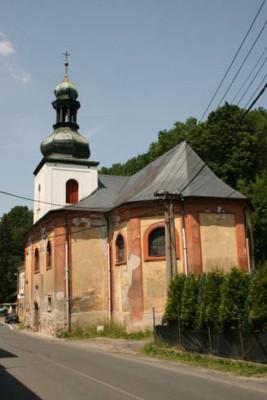 Kostel sv. Anny v Horním Slavkově / Foto kostela