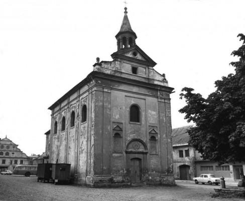 kostel Čtrnácti svatých pomocníků  / rok 1971