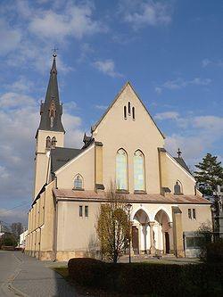 Rapotín, kostel Nanebevzetí Panny Marie / Rapotín, kostel Nanebevzetí Panny Marie