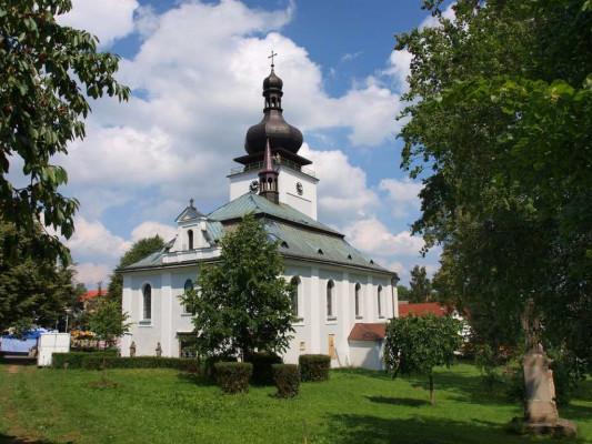 Bozkov, kostel Navštívení Panny Marie