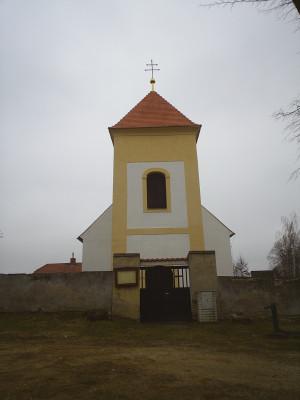 Kostel Všech svatých v Kozohlodech / Kostel Všech svatých pochází ze 14. století. Je jednolodní se západní věží. Ze 14. století pochází také fresky, které zaznamenávají život Pána Ježíše a Panny Marie. Tím je kostel unikátní.