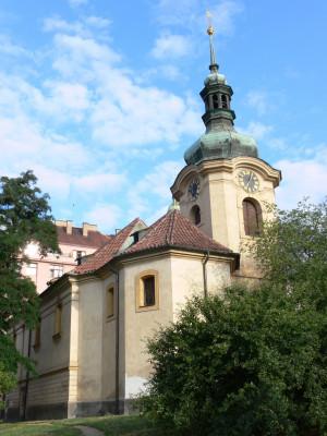 Praha 10 - Vršovice, kostel sv. Mikuláše