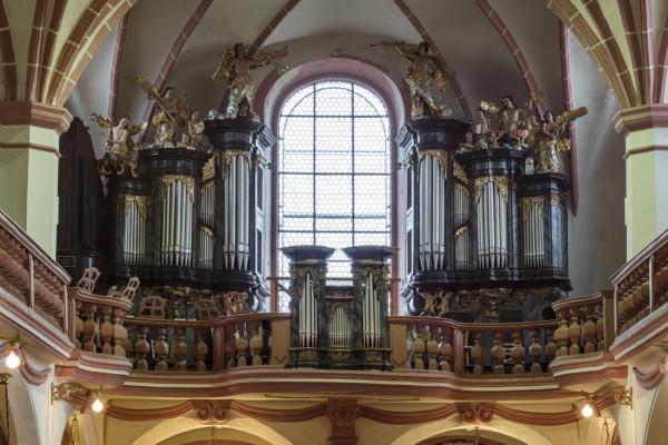 Kostel sv. Michaela a Panny Marie Věrné / Interiér - varhany