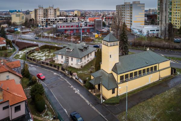kostel sv. Františka z Assisi / foto zima 2019 - lidé a víra - Jakub Šerých  / Autor fotografie: Lidé a víra - Jakub Šerých