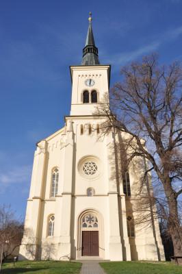 evangelický kostel v Nosislavi