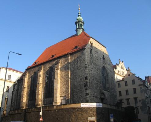 Praha 2 Nové Město kostel sv. Václava Na Zderaze.j