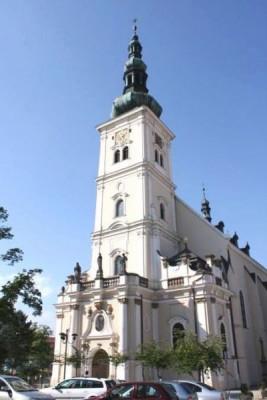 Vyškov, kostel Nanebevzetí Panny Marie / Vyškov, kostel Nanebevzetí Panny Marie