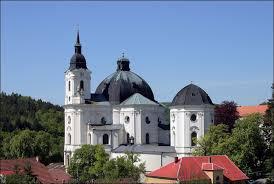 Křtiny - kostel Jména Panny Marie