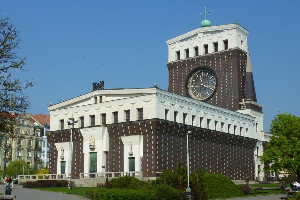 Praha 3 Vinohrady, kostel Nejsvětějšího srdce Páně