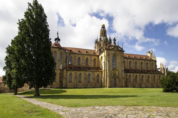 Klášter Kladruby - kostel Nanebevzetí Panny Marie