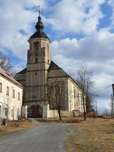 Kostel Ryžoviště / kostel sv. Jana Křtitele
