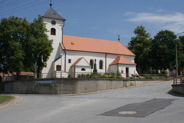 Kostel sv. Kateřiny, Starovičky