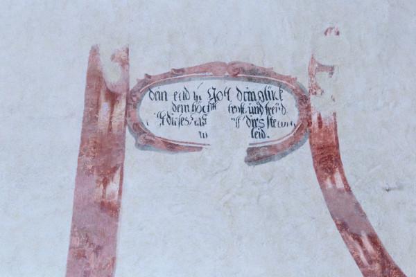 KOstel sv. Jakuba / Interiér - fresky