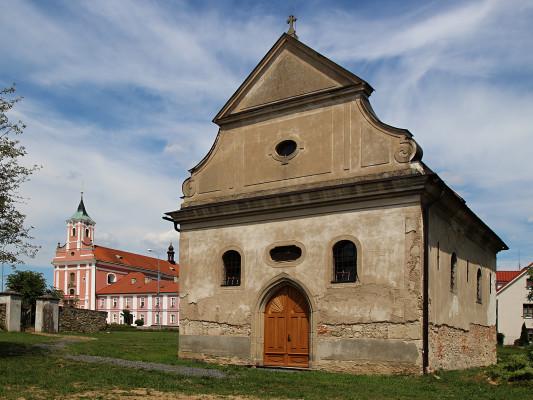 kostelik / Starý kostelík ve Štípě