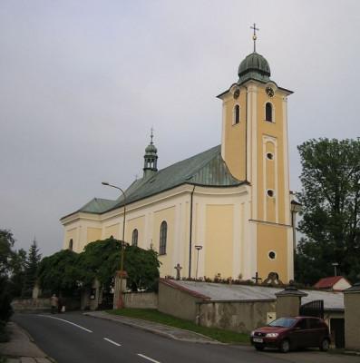 Kelč, kostel sv. Petra a Pavla / Kelč, kostel sv. Petra a Pavla