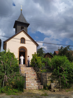 Pouť na Veselí / kaple Panny Marie Karmelské