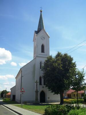 Huštěnovice, kostel sv. Anny