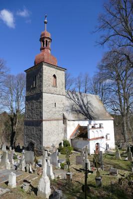 Petrovice - kostel sv. Petra a Pavla