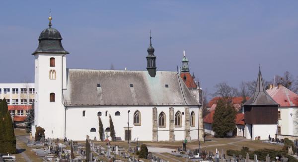 Farní kostel sv. Martina, Dolní Újezd / Autor fotografie: Lubomír Jiskra