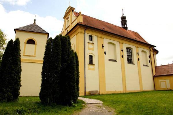 Kostel sv. Jakuba Staršího / farní kostel novohradské farnosti