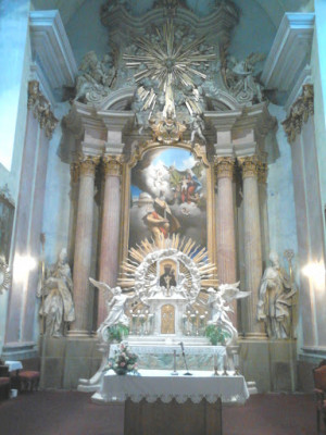 Foto kostela - interier