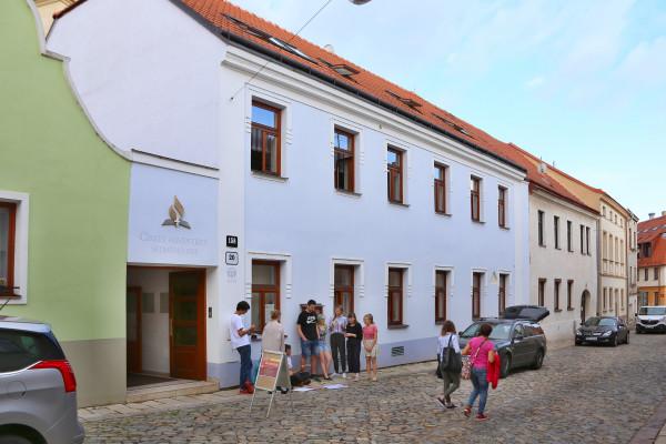 modlitebna CASD Znojmo / foto kostela