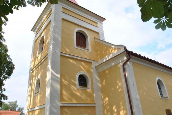 Kostel sv. Jakuba Většího ve Vlkanči