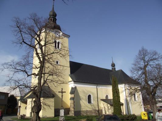 kostel Povýšení sv. Kříže, Valašské Klobouky / kostel Valašské Klobouky