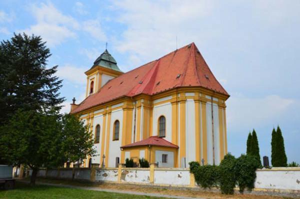 Štěpánov, kostel sv. Vavřince