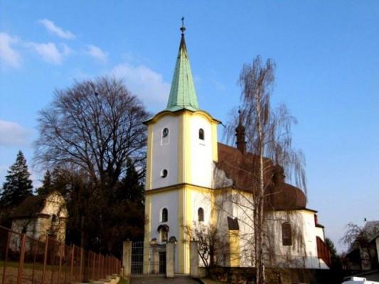 Lešná, kostel sv. Michaela Archanděla / Lešná, kostel sv. Michaela Archanděla