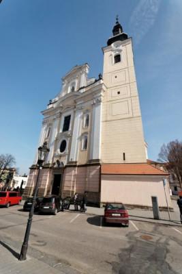 Kroměříž, kostel Nanebevzetí Panny Marie / Kroměříž, kostel Nanebevzetí Panny Marie