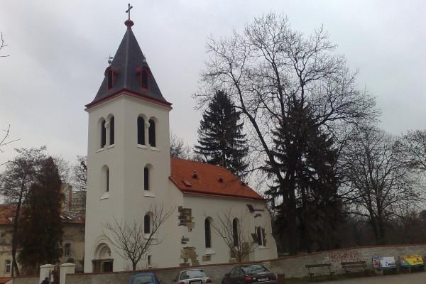 Praha 10 - Záběhlice, kostel Narození Panny Marie