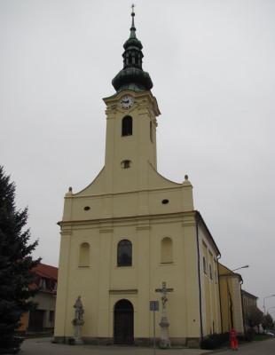 Kostel - Popice_ / Kostel sv. Ondřeje, Popice