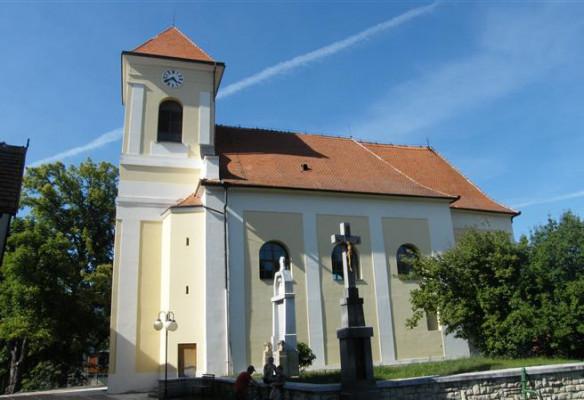 kostel sv. Jana Křtitele - Boleradice