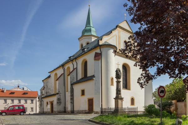 Kostel sv. Michaela a P. Marie Věrné / Farní kostel