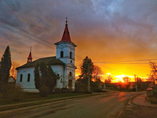 kostel Pohoří