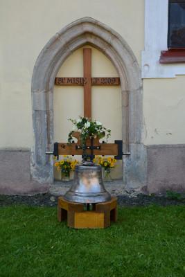 Nový zvon Maria / Zavěšeno v srpnu 2021