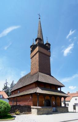 Blansko, dřevěný kostelík Husova sboru