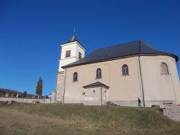 Barokní kostel sv. Jana Křtitele v Markoušovicích