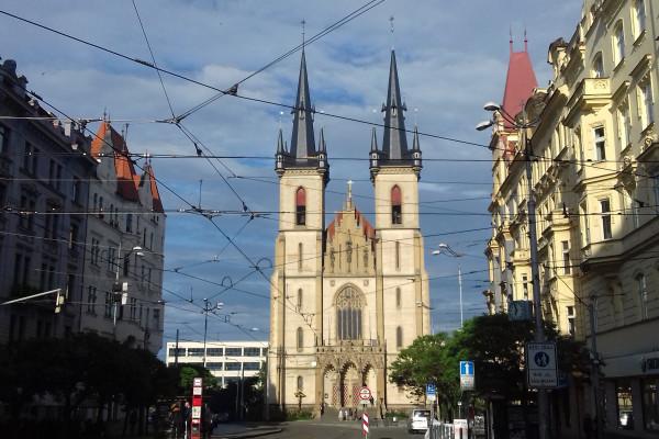 kostel sv. Antonína Paduánského / Autor fotografie: Zuzana Kakušková