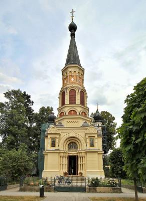 chrám sv. kněžny Olgy