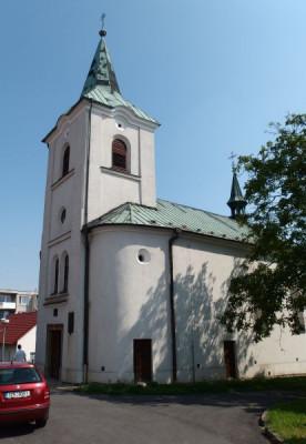 Kelč, kostel sv. Kateřiny / Kelč, kostel sv. Kateřiny