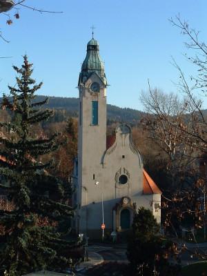 Jablonec n. N., kostel Povýšení sv. Kříže