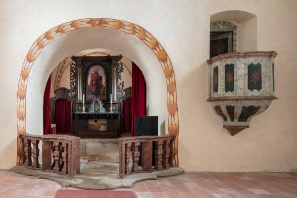 Kostel sv. Jakuba, většího / Interiér