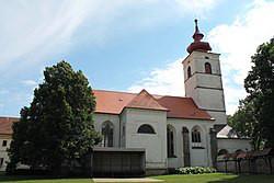 Brtnice, kostel bl. Karla a bl. Juliany