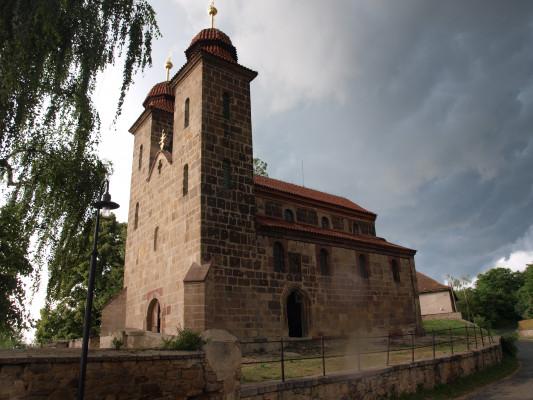 Tismice, kostel Nanebevzetí Panny Marie