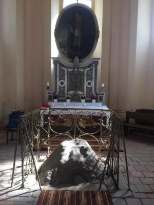 kaple sv. Vojtěcha  Nebílovský Borek / interiér kaple / Autor fotografie: Jiří Albrecht