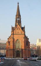 Brno, kostel J. A. Komenského